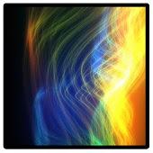 Rainbow light beam #2