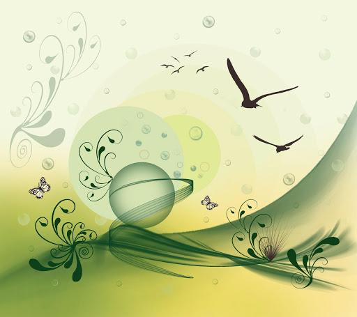 Peaceful Green Land.LiveWallp