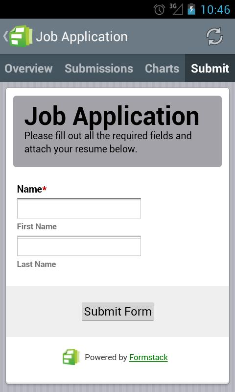 Formstack Online Forms Android Apps On Google Play