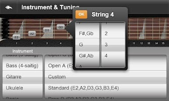 Screenshot of JamBox Chords & Scales
