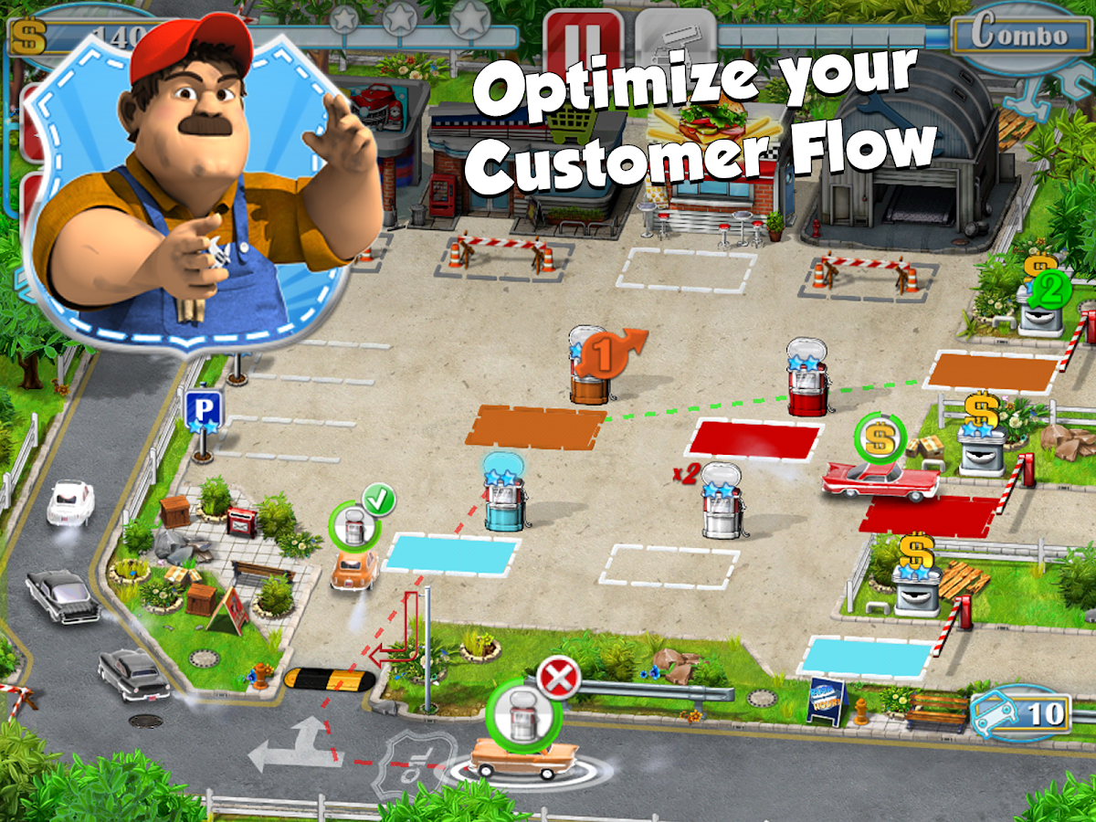 Gas Station - Rush Hour! Free- screenshot