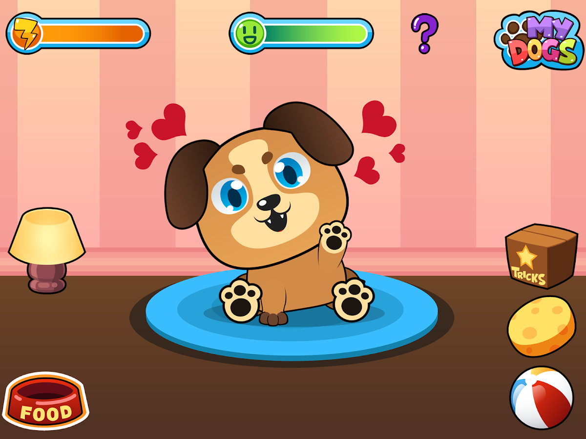 My Virtual Dog - Pup & Puppies- screenshot