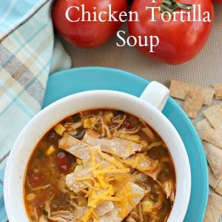 Crockpot Chicken Tortilla Soup + More Easy Chicken Recipes