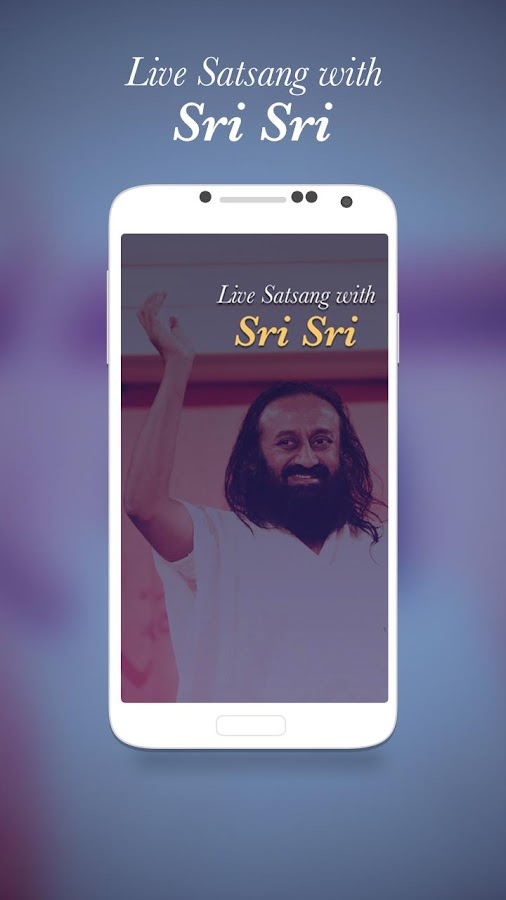 Live Satsang with Sri Sri- screenshot