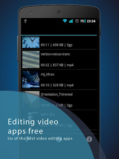 Editing Video Apps