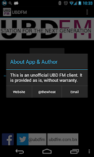 UBDFM / UBD FM Brunei- screenshot thumbnail