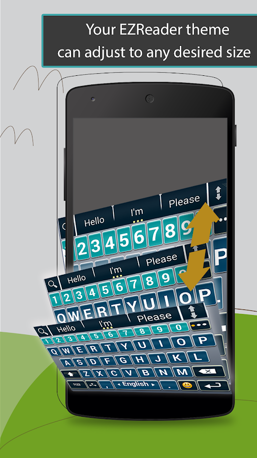 A.I.type EZReader Theme Pack - screenshot