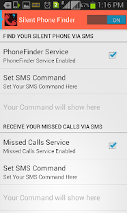 Missed Call Silent PhoneFinder