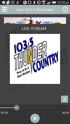 103.5 Thunder Country