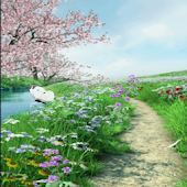 Butterfly Path Live Wallpaper