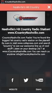 iCountryNashville.com - screenshot thumbnail