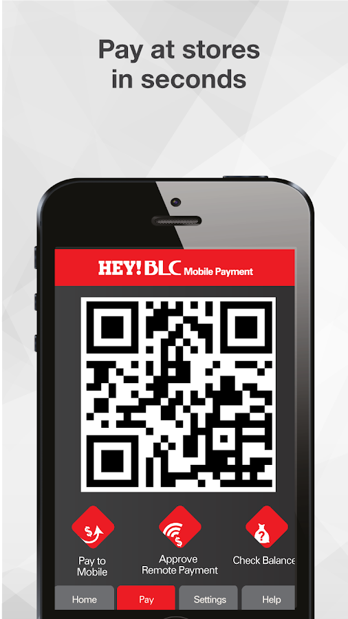 Hey-BLC Mobile Payment- screenshot