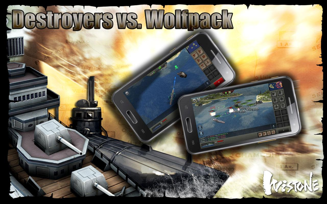 Destroyers vs. Wolfpack - screenshot