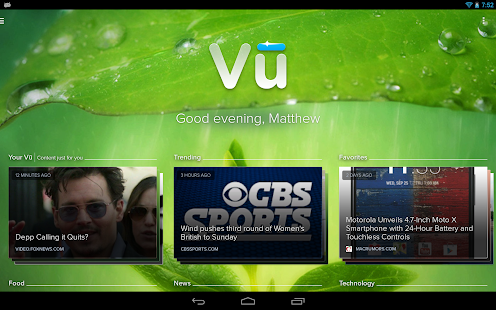 Vu - screenshot thumbnail