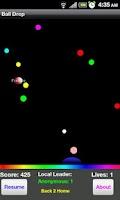 Screenshot of Ball Drop