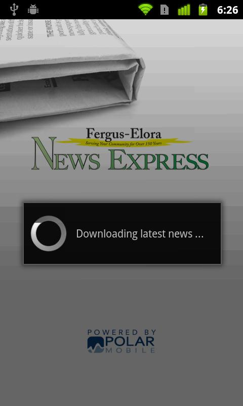 Fergus News Express - screenshot