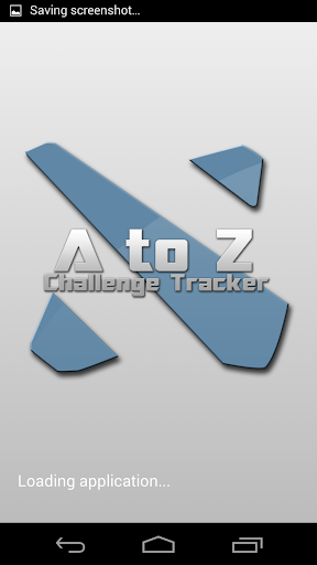 A to Z Challenge Tracker