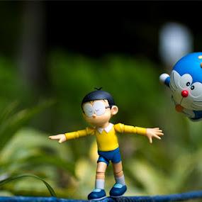 by Stevie Go - Uncategorized All Uncategorized ( nobita, walking, toy, dream, doraemon, toys, daydream )