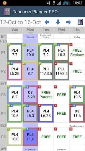 Teachers Planner PRO