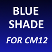 Blue Shade - CM12 Theme