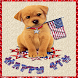July 4th Puppy LWP