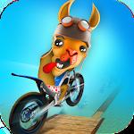 Dirt Bike Llama Stunt Rider 3D 1.0 Apk