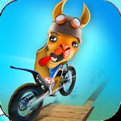 Dirt Bike Llama Stunt Rider 3D