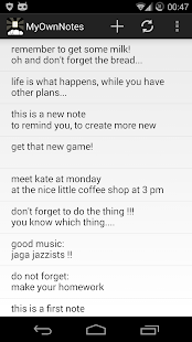 My Own Notes 1 6 APK for Android
