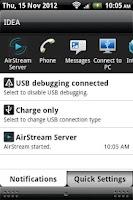 Screenshot of AirStream Server