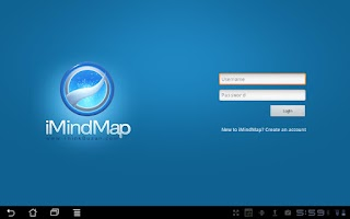 Screenshot of iMindMap HD