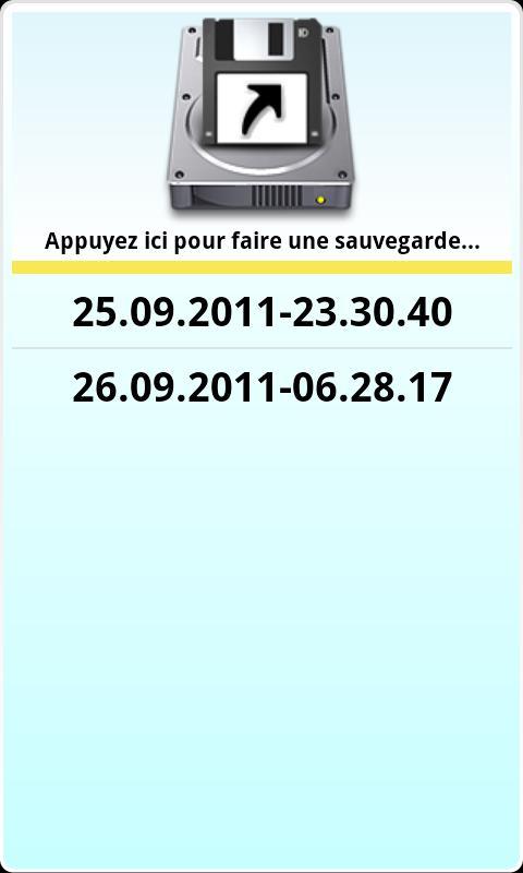MyNumbers (SwissLotto 2 addon)- screenshot