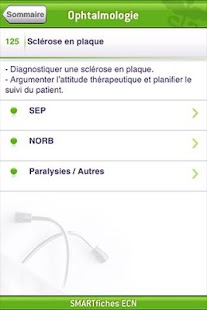 SMARTfiches Ophtalmologie Free- screenshot thumbnail