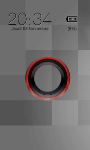 Sense Red Go Locker theme - screenshot thumbnail