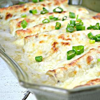 White Sauce Chicken Enchiladas Sour Cream Recipes.