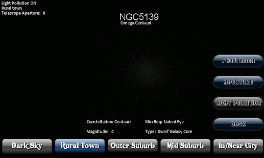 Deep Sky Calculator(Astronomy) - screenshot thumbnail