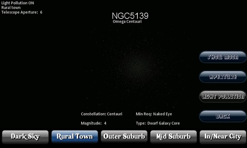 Deep Sky Calculator(Astronomy)- screenshot