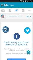Screenshot of SafeZone
