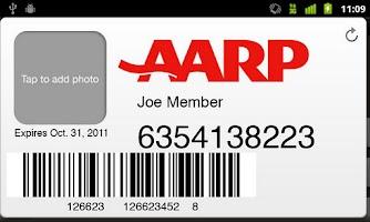 Screenshot of AARP