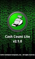 Screenshot of Cash Count Lite