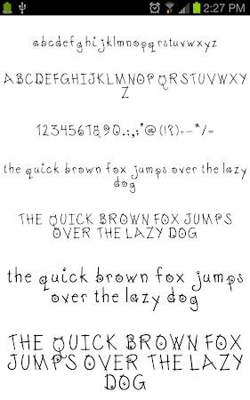 Neat Fonts for FlipFont free 3.16.1 screenshot 1962595