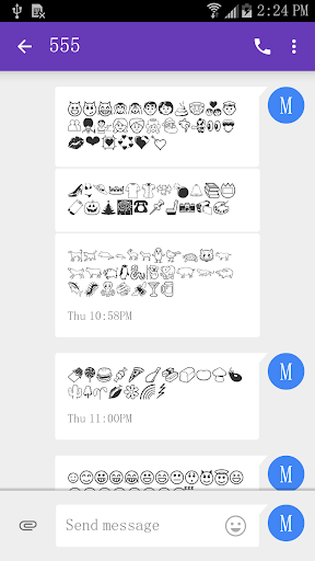 5 Emoji Fonts for FlipFont