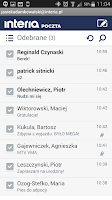 Screenshot of Poczta INTERIA.PL