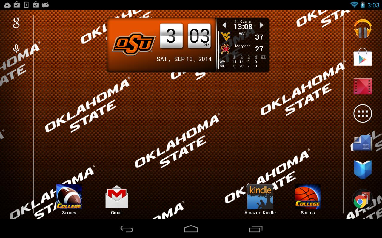 Oklahoma State Football Wallpaper 2015