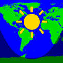 Daylight World Map icon