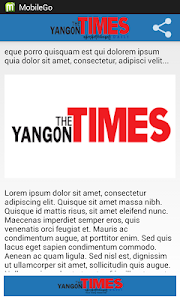 Yangon Times screenshot 0