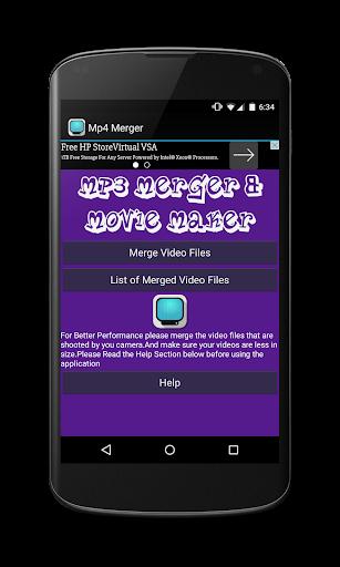 Mp4 Merger Movie Maker