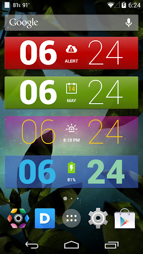 Colourform XP for HD Widgets