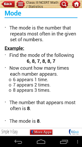 Class III NCERT Math by WAGmob