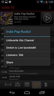 SomaFM Radio Player - screenshot thumbnail