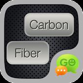 Carbon Fiber GO SMS THEME